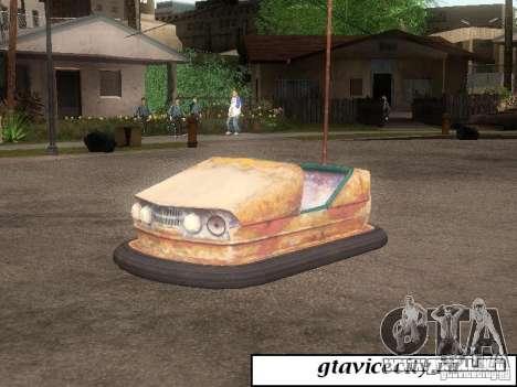 Máquina Attrakcionnaâ para GTA San Andreas left