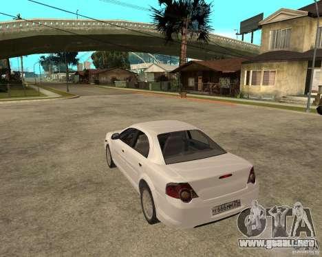 Siber Volga GAZ en 2,5 para GTA San Andreas left