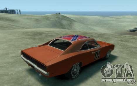 Dodge Charger General Lee v1.1 para GTA 4 visión correcta