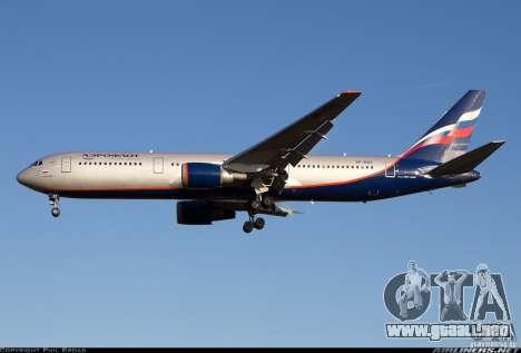 Pantallas de carga Boeing 767 para GTA San Andreas sucesivamente de pantalla