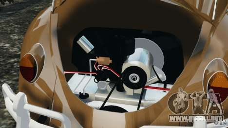 Volkswagen Fusca Gran Luxo v2.0 para GTA 4 vista desde abajo