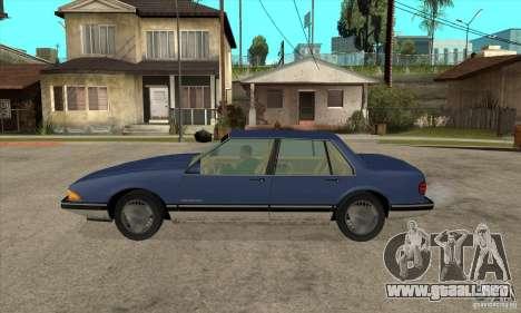 Pontiac Bonneville 1989 para GTA San Andreas left