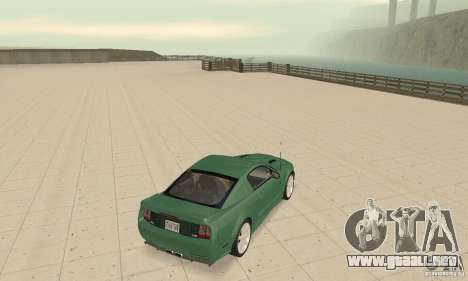 Saleen S281 v2 para GTA San Andreas vista posterior izquierda