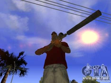 M82 para GTA San Andreas segunda pantalla
