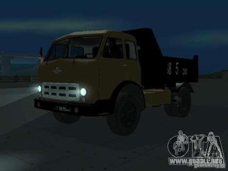 Camión MAZ 503a para GTA San Andreas