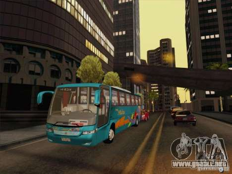 Mercedes-Benz Vissta Buss LO para vista lateral GTA San Andreas