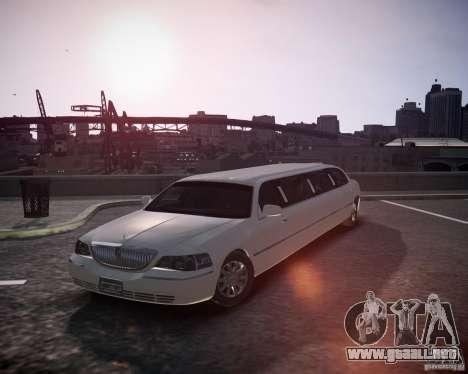 Lincoln Town Car Limousine para GTA 4