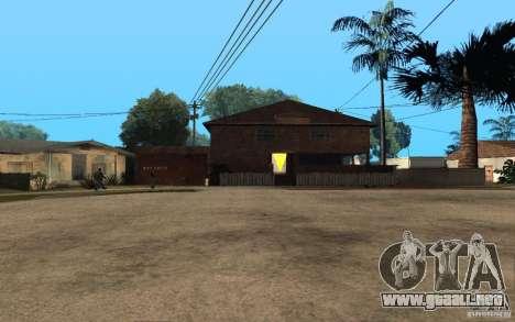S.T.A.L.K.E.R House para GTA San Andreas sucesivamente de pantalla