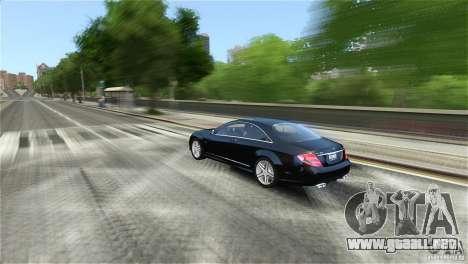 Mercedes-Benz CL65 AMG v1.5 para GTA 4 vista hacia atrás
