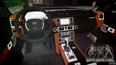 Land Rover Discovery 4 2011 para GTA 4 visión correcta