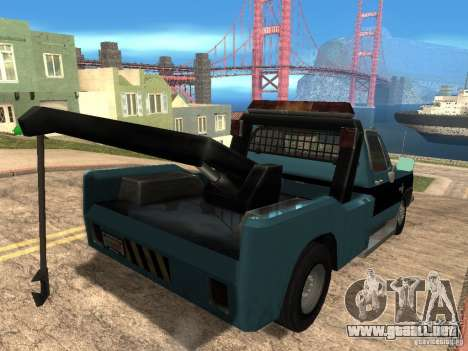 Chevrolet Towtruck para la visión correcta GTA San Andreas