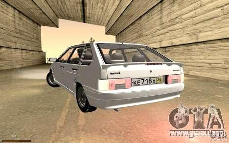 ВАЗ 2114 calidad para vista lateral GTA San Andreas
