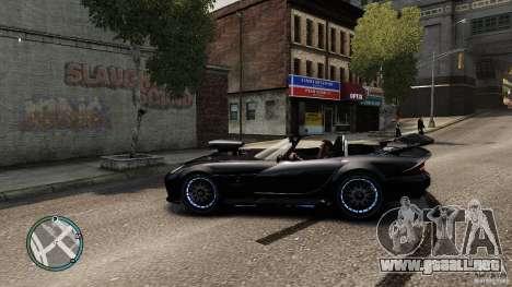 Blue Neon Banshee para GTA 4 left