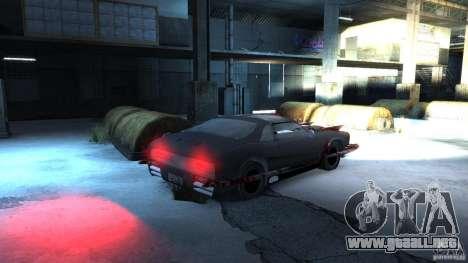 Apocalyptic Mustang Concept (Beta) para GTA 4 visión correcta