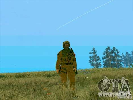Barro Camo Morpeh para GTA San Andreas segunda pantalla