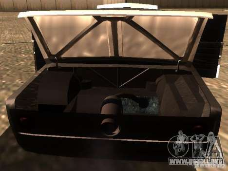 VAZ 2106 Drag Racing para vista inferior GTA San Andreas