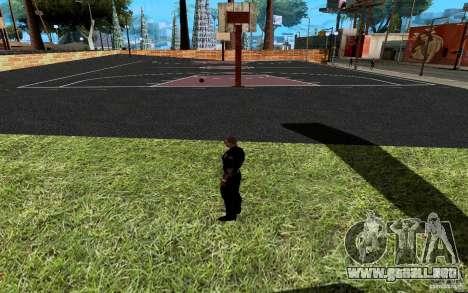 La nueva cancha de baloncesto para GTA San Andreas séptima pantalla