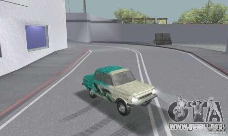 ZAZ 968 m andrajosos para visión interna GTA San Andreas