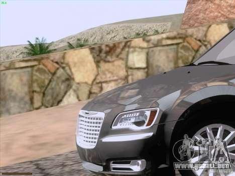 Chrysler 300 Limited 2013 para GTA San Andreas interior