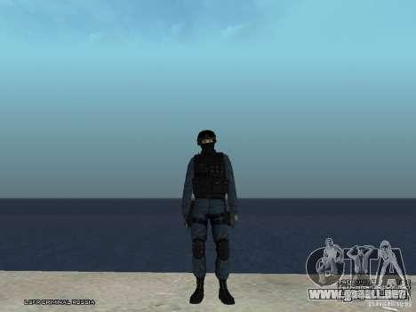 Oficial de policía antidisturbios para GTA San Andreas tercera pantalla