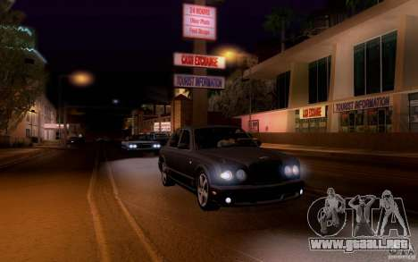 Bentley Arnage para la vista superior GTA San Andreas