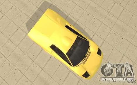 Infernus de GTA 4 para la visión correcta GTA San Andreas