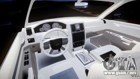 Chrysler 300C 2005 para GTA 4 vista hacia atrás
