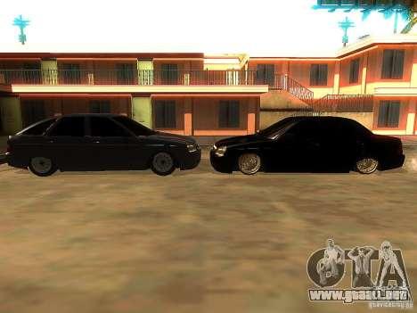 Lada Priora Dag Style para GTA San Andreas interior