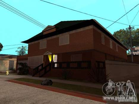 La casa de CJ en ruso para GTA San Andreas tercera pantalla