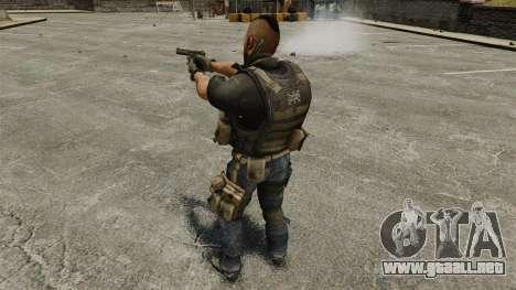El capitán John «4» Mctavish para GTA 4 quinta pantalla