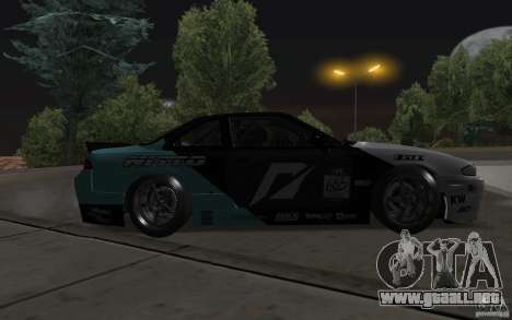 Nissan S14 Matt Powers 2012 para vista inferior GTA San Andreas