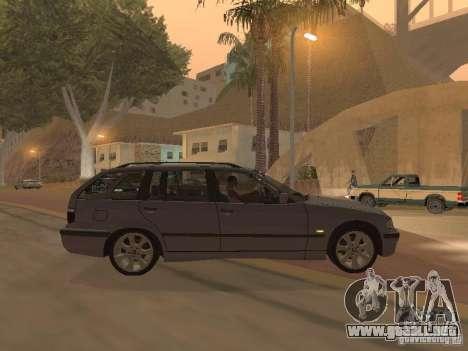 BMW 318 Touring para la visión correcta GTA San Andreas