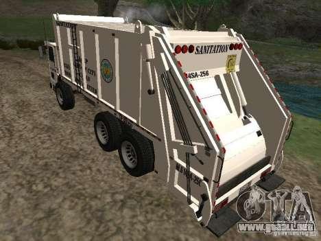 Camión de basura de GTA 4 para GTA San Andreas left