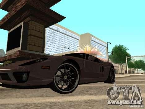 Ford GT para la visión correcta GTA San Andreas