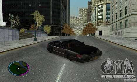 Honda CRX Tuned para la visión correcta GTA San Andreas