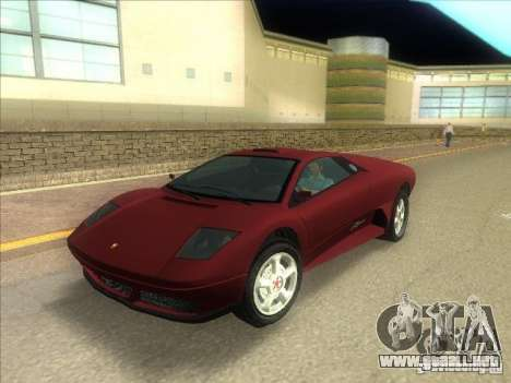 Infernus de GTA IV para GTA Vice City