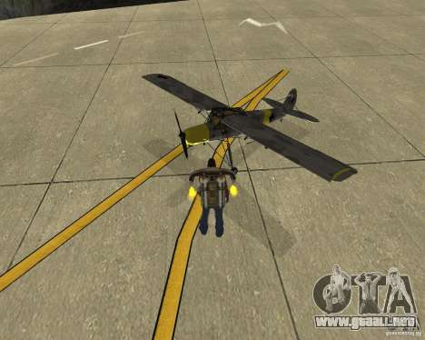 Transporte aéreo Pak para la visión correcta GTA San Andreas
