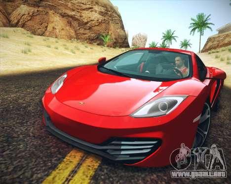 Realistic Graphics HD para GTA San Andreas sucesivamente de pantalla