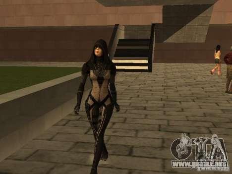 Girls from ME 3 para GTA San Andreas sucesivamente de pantalla
