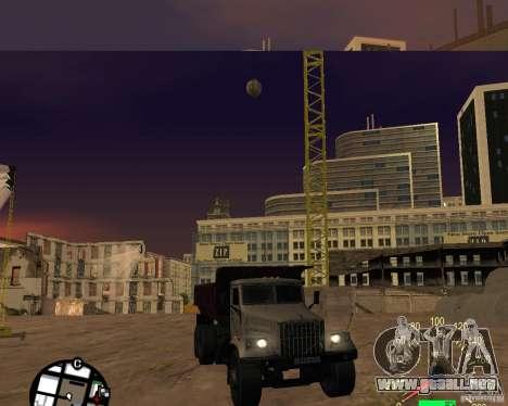 Camión KrAZ-256 para GTA San Andreas