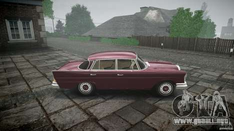 Mercedes Benz W111 Final para GTA 4 left