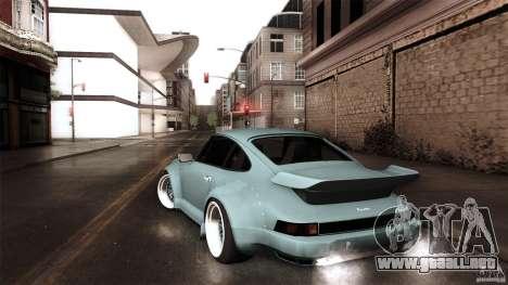 Porsche 911 Turbo RWB DS para GTA San Andreas left