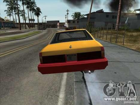 Sentinel Taxi para la visión correcta GTA San Andreas