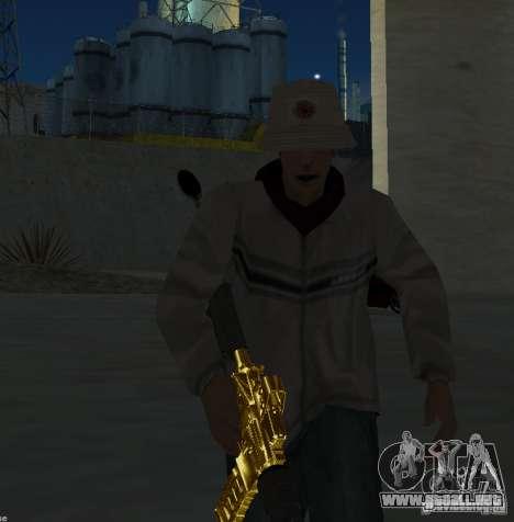 [GOLD] m4 para GTA San Andreas tercera pantalla
