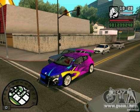 Volswagen Scirocco para GTA San Andreas left