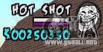 HUD by Hot Shot para GTA San Andreas
