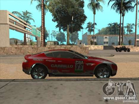 Aston Martin v8 Vantage n400 para la visión correcta GTA San Andreas