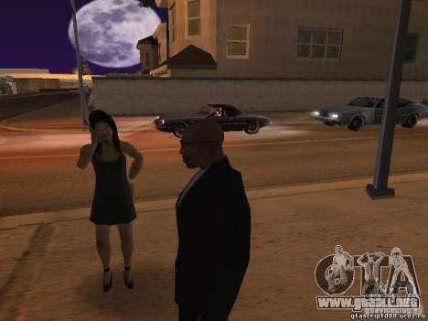 Comportamiento de los demás para GTA San Andreas segunda pantalla