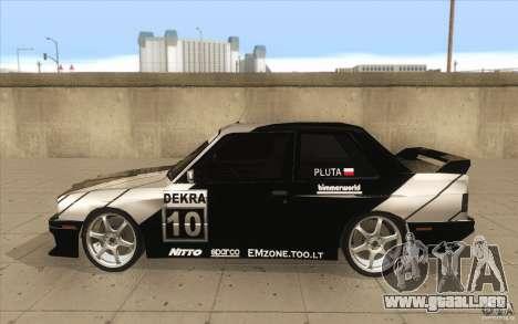 BMW E30 M3 - Coupe Explosive para GTA San Andreas left