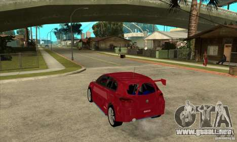 Alfa Romeo 147 para GTA San Andreas vista posterior izquierda